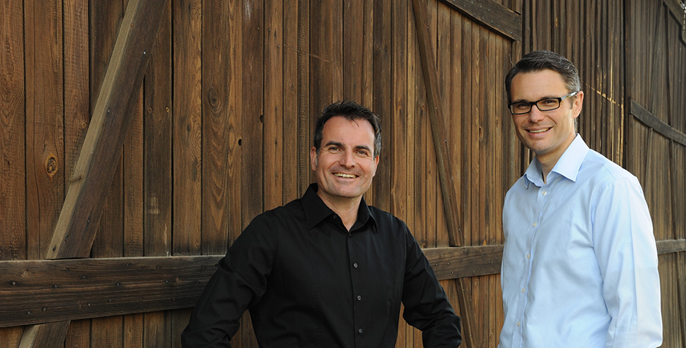 Michael Olma und Ralf Piegsa